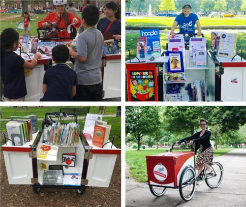 Happy Bookmobile and Book Bike Day!