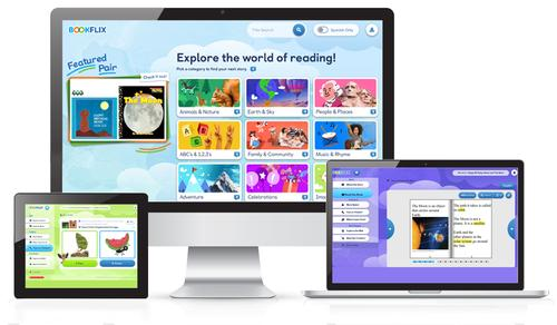 Bookflix is a digital resource available through the Free Library that pairs classic video storybooks with related nonfiction ebooks!