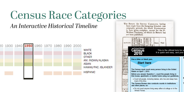 a bar graph showing Census Race categories