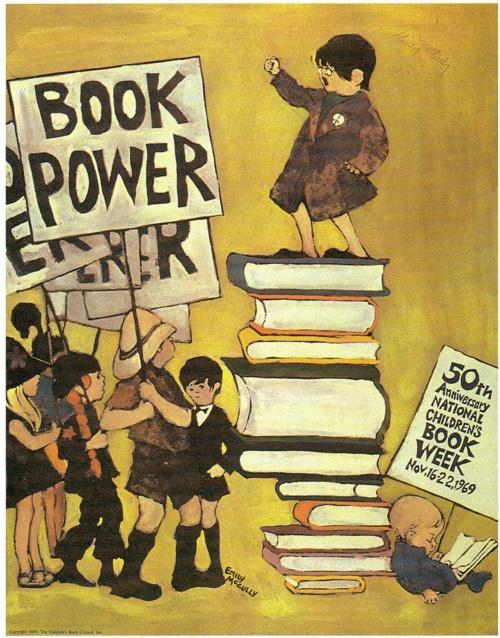 The 50th anniversary Children's Book Week poster from 1969.
