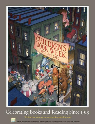 Children's Book Week Poster by David Wiesner