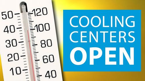 Numerous Free Library locations will serve as cooling centers for the heat wave.