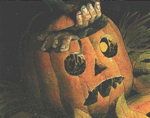 Harrow County Halloween ComicFest issue, 2016, illustrated by Tyler Crook.