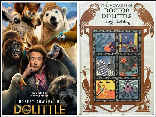 <i>Dolittle</i> is the latest book to screen adaptation of Hugh Lofting's Doctor Dolittle character and stories.