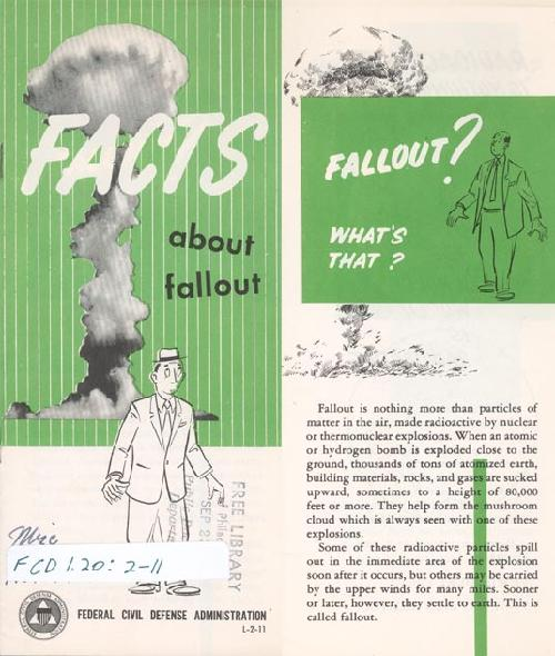 Civil Defense pamphlet