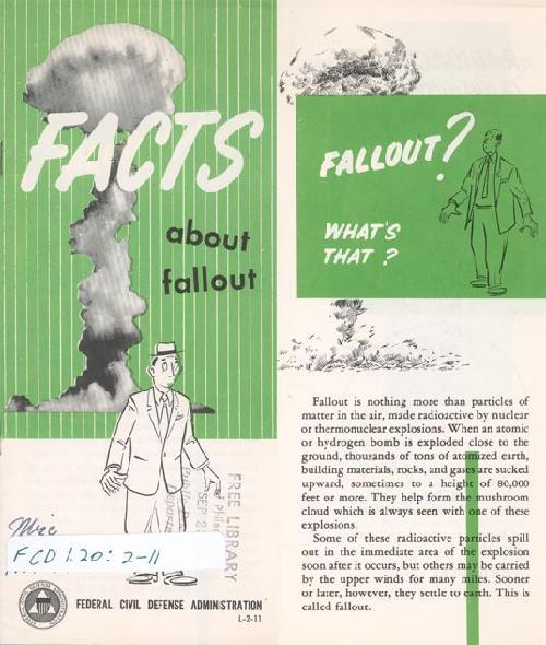 Civil Defense pamphlet