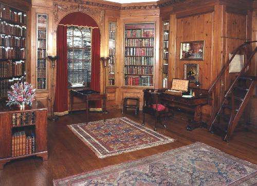 The Central Library's Elkins Room