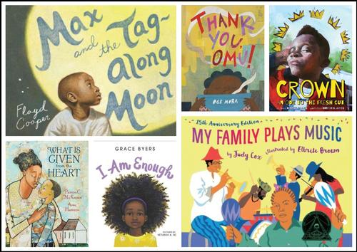 Here's just a sample of the books available in our catalog that celebrate the everyday experiences of black children and their families!