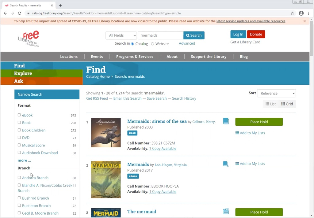 In the first installment of this blog series, we'll break down how to use our catalog to search for and place books on hold for your whole family to enjoy!