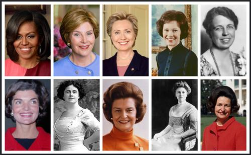 First Ladies, In Their Own Words