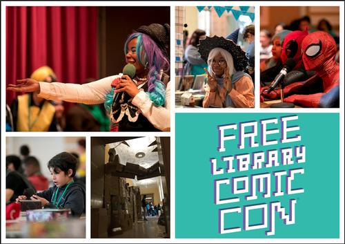 Join us on Saturday, May 11 for our 5th annual Comic Con!