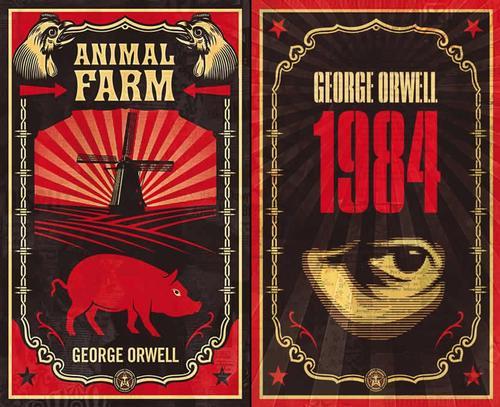 George Orwell's <i>Animal Farm</i> and <i>1984</i>