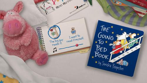 The Going to Bed Book app is great when you have to put them to bed at Nana's and forgot to pack their bedtime book (oops!)