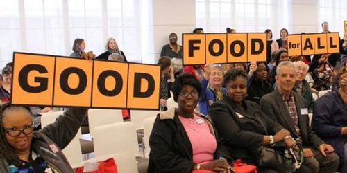 Now in its fifth year, our annual Good Food For All Conference welcomes hunger fighters, food educators, people who are facing food insecurity, and advocates for food access.