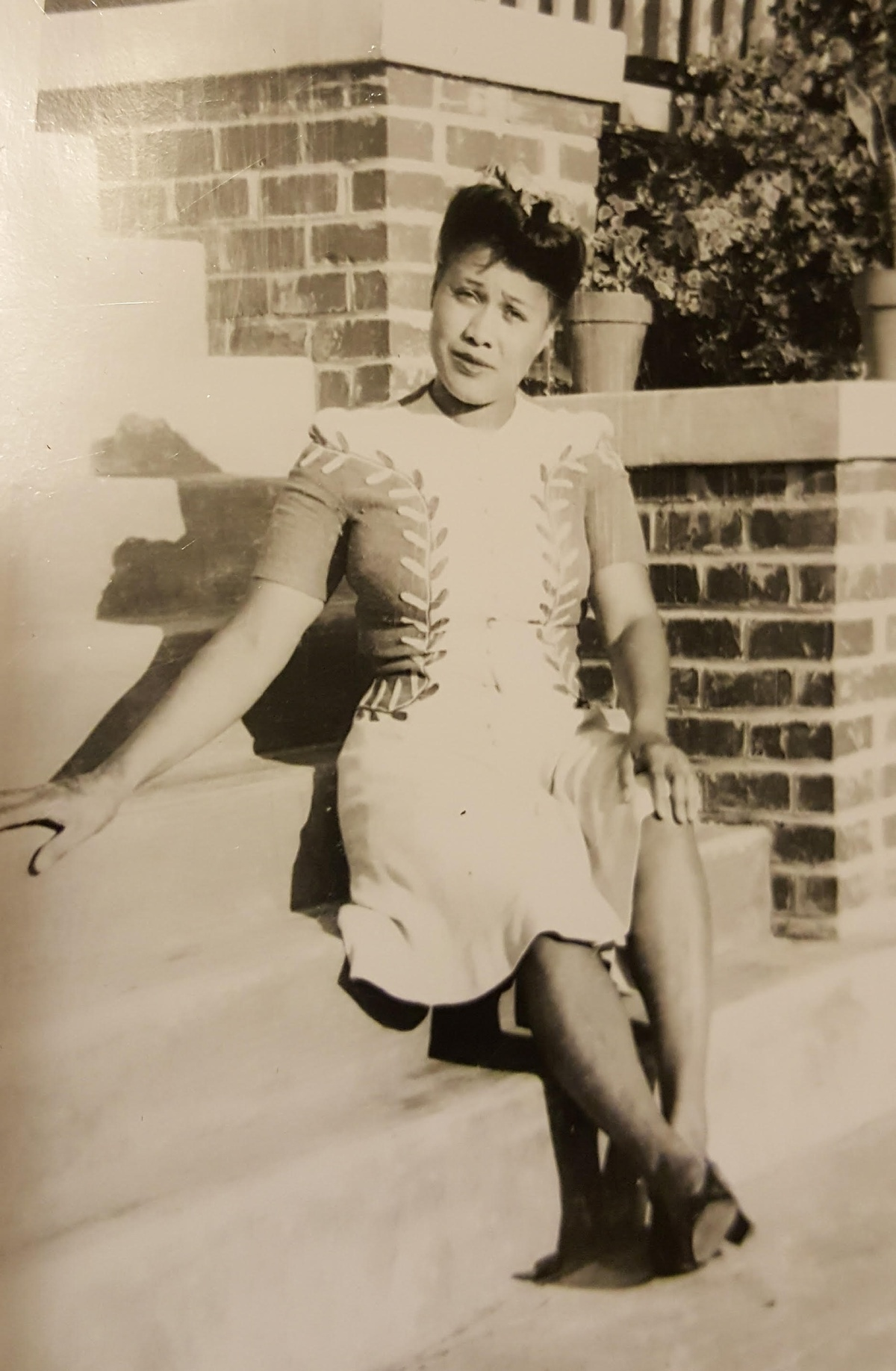 Dorothy Evelyn Hudson in the 1940s.