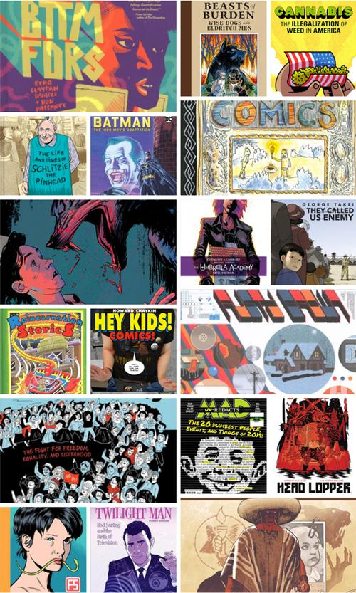 19 Great Graphic Novels from 2019!