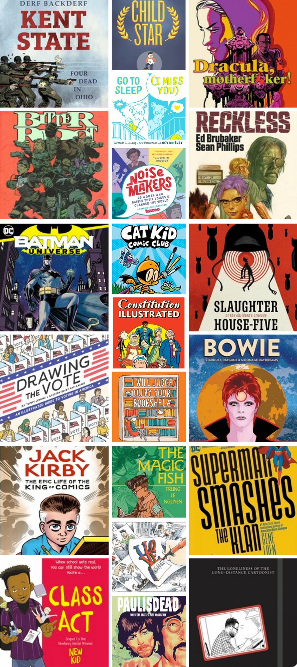 20 Great Graphic Novels and Comics from 2020!