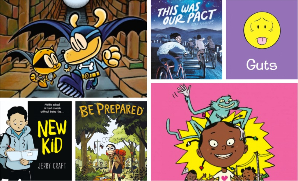 These graphic novel recommendations are bold, fearless, and bound to reach readers.