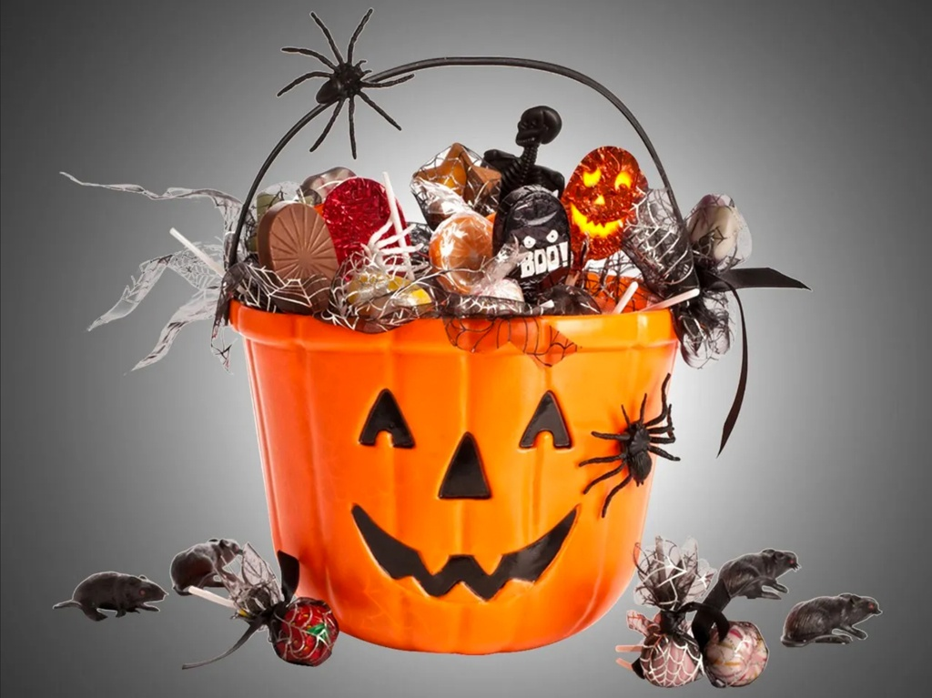 This Halloween, let's indulge in the sweeter-rather-than-scary part of the holiday with CANDY!