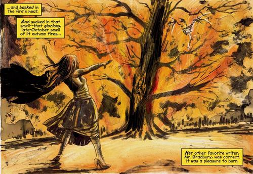 Panel from <i>Chilling Adventures of Sabrina</i>