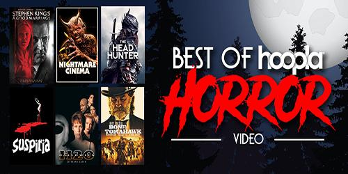 selection of horror movies posters