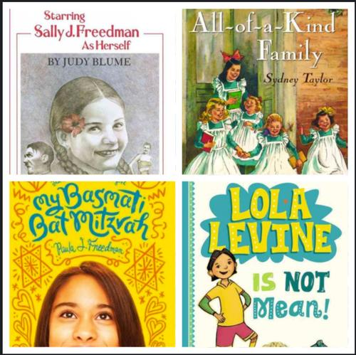Some of my Favorite Jewish (and Half Jewish) Family Children's Books!