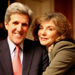 John Kerry and Teresa Heinz Kerry