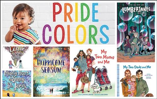 Here are some of my favorite children's and middle-grade titles for Pride Month!