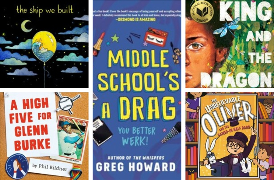 Explore our catalog for these more LGBTQ+ titles and more!