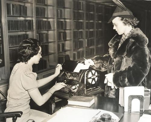 We're celebrating Women's History Month by honoring some amazing Free Library women, past and present!