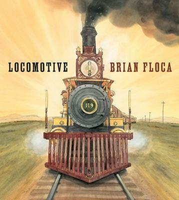 Brian Floca's Locomotive won the 2014 Caldecott Award