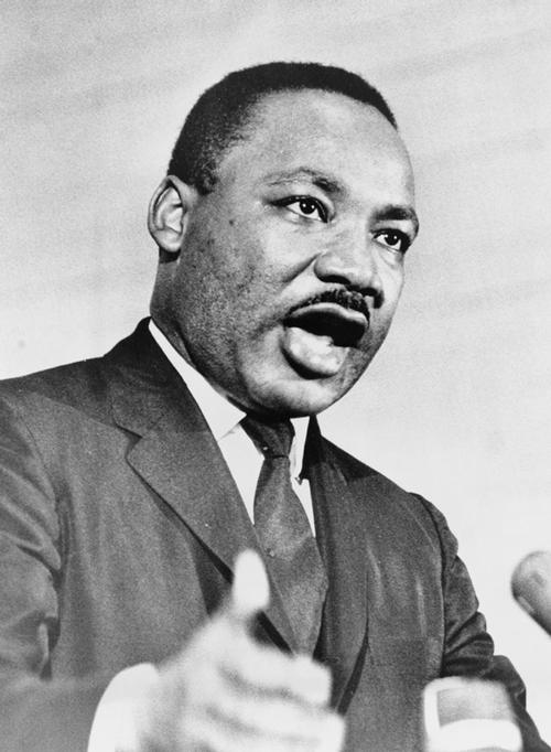 Dr. Martin Luther King, Jr. <br> Credit: Library of Congress