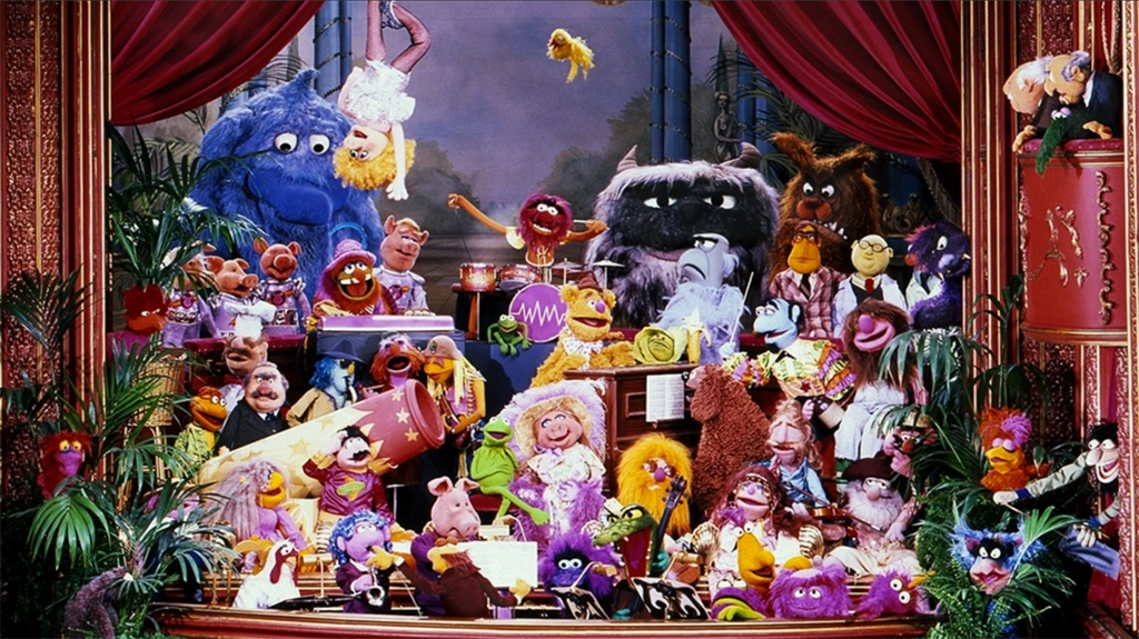 It's the Muppet Show! YAAAAAAY!