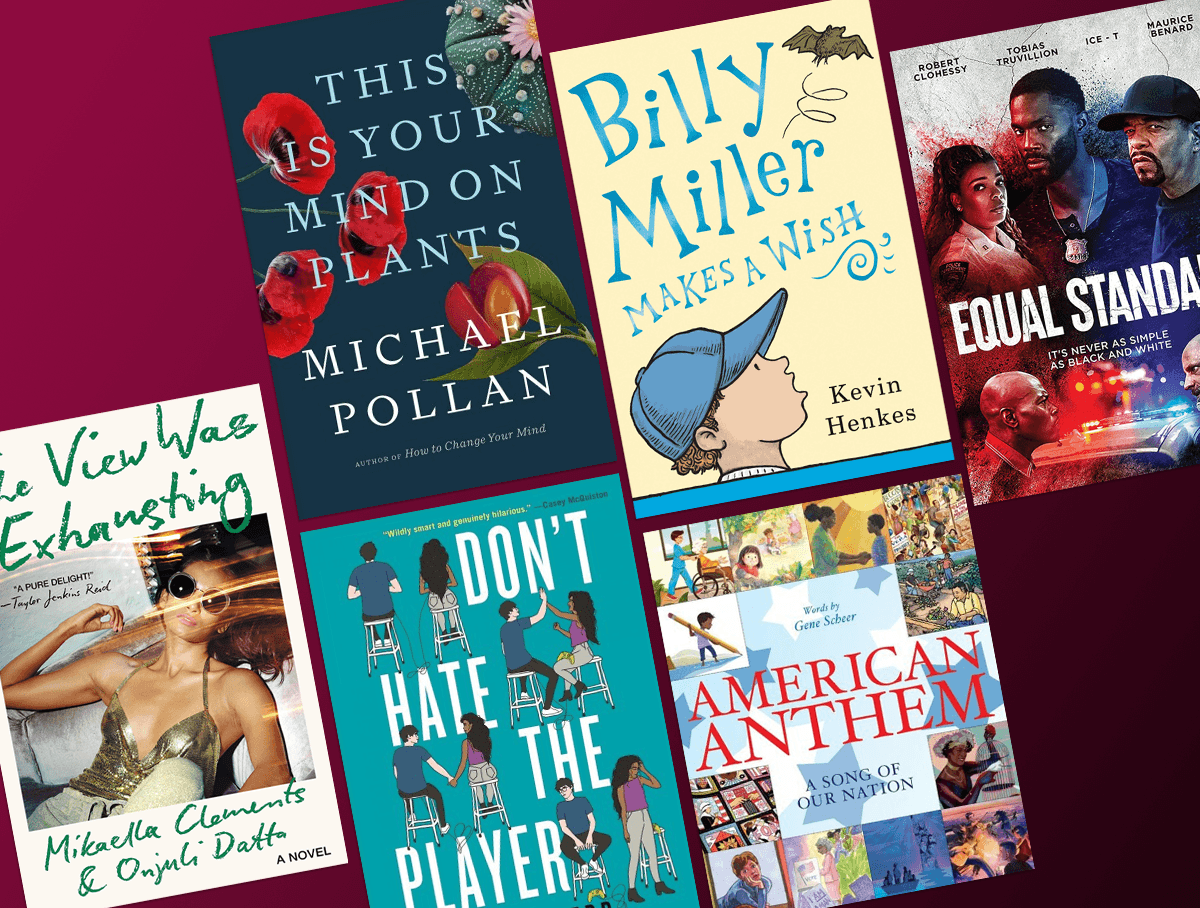 Find a little something for everyone in July's recommendations of new titles.