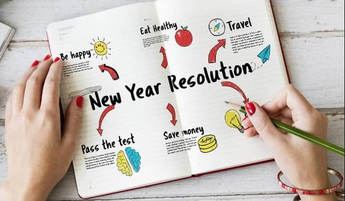The Free Library is here to help you keep your New Year's Resolution in 2020!