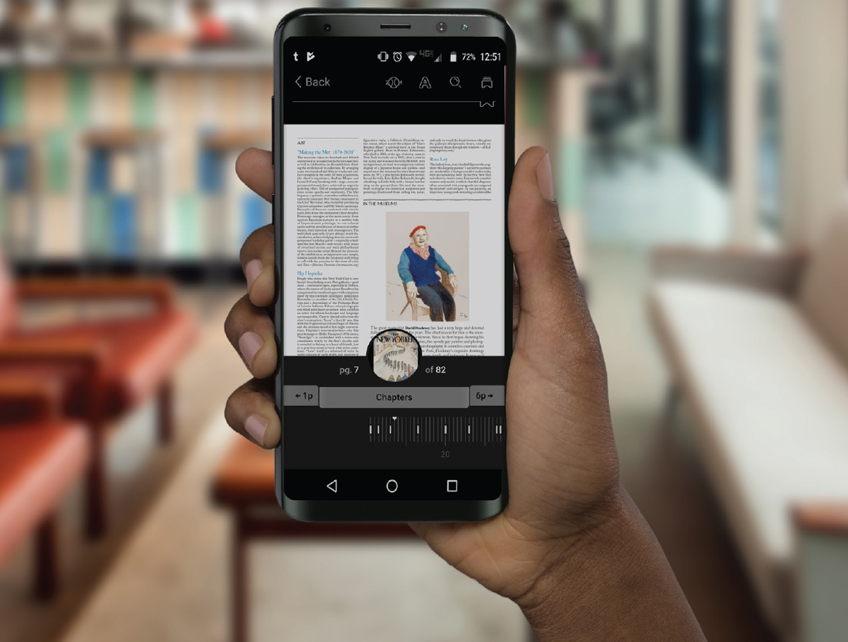 OverDrive users will have access to over 3,300 magazine titles in over 20 languages