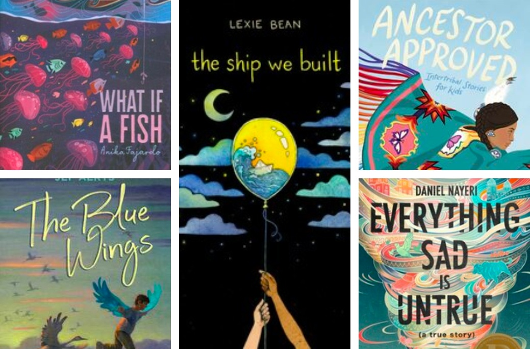 Check out these #ownvoices titles from our catalog!