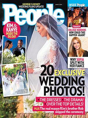 You KNOW you want to see Kimye's wedding photos!