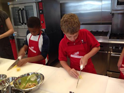 Chop! Chop! Kids get cooking at the Free Library of Philadelphia's Culinary Literacy Center