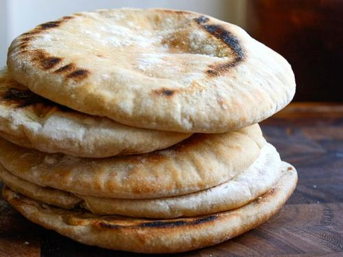 Try your hand at making your own delicious pita bread.