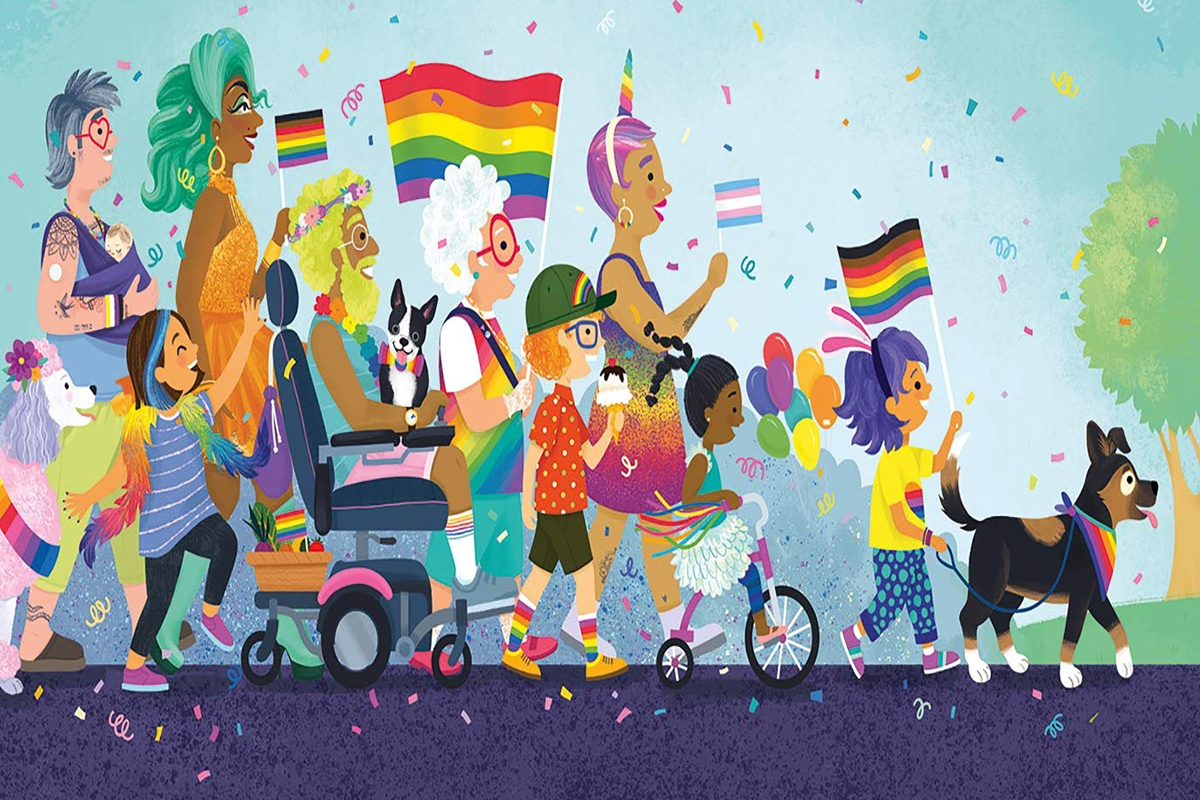 Check out these picture books in celebration of Pride Month!