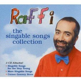 Raffi's Bumping Up and Down is a great bicycling song.