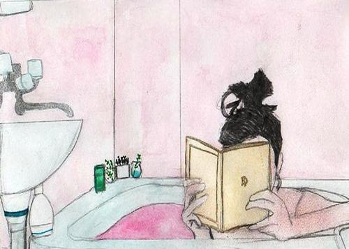 February 9 is Read in The Bathtub Day!