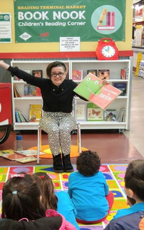 Join the Free Library for a storytime at Reading Terminal Market!