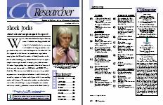 CQ Researcher provides detailed perspectives in a fun-to-read yet authoritative format.