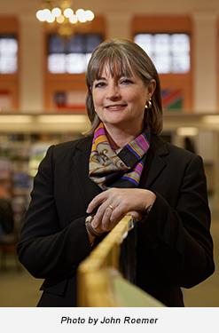Free Library President and Director, Siobhan A. Reardon