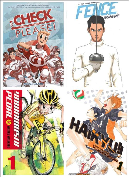 There are some amazing sports comics out there... and here's just a few to check out!