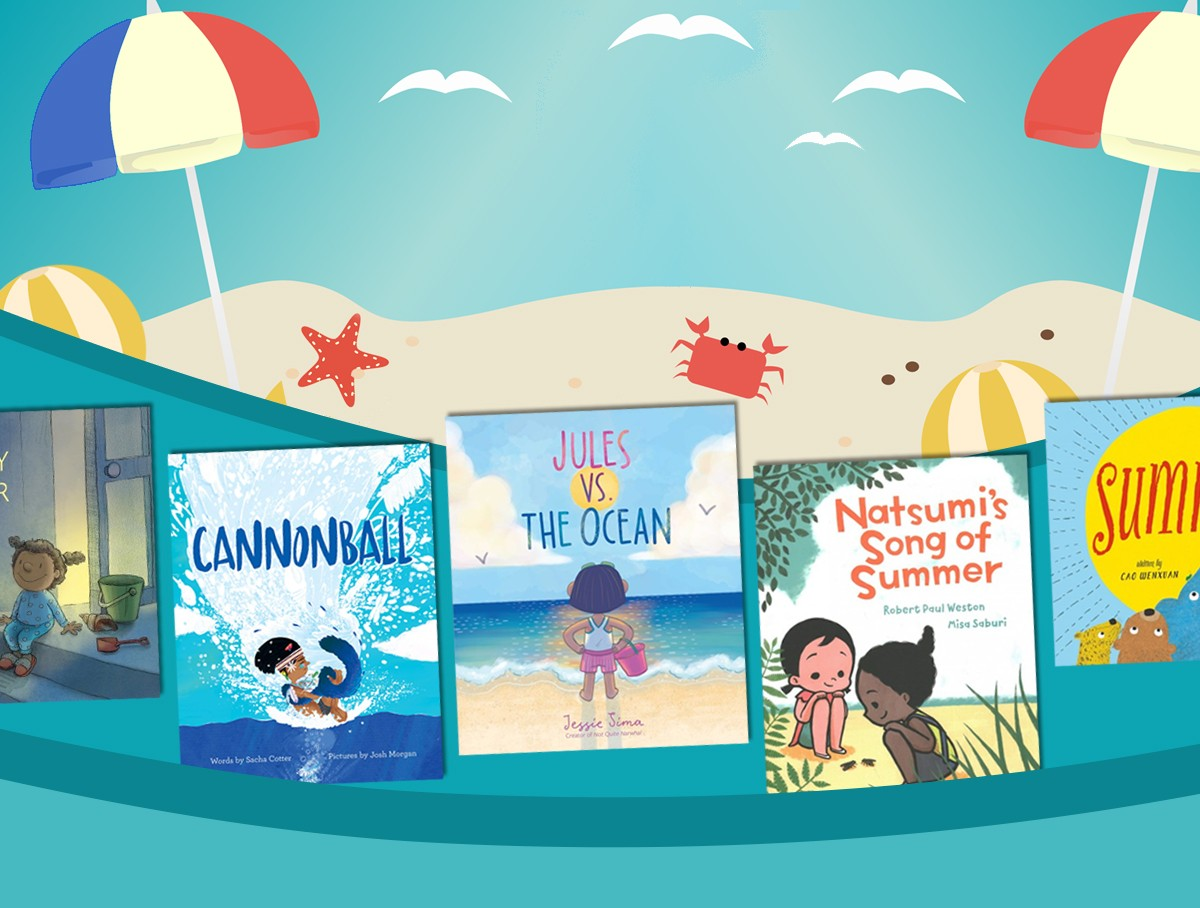 Dive into these picture books about summer to bring a little sunshine your way!