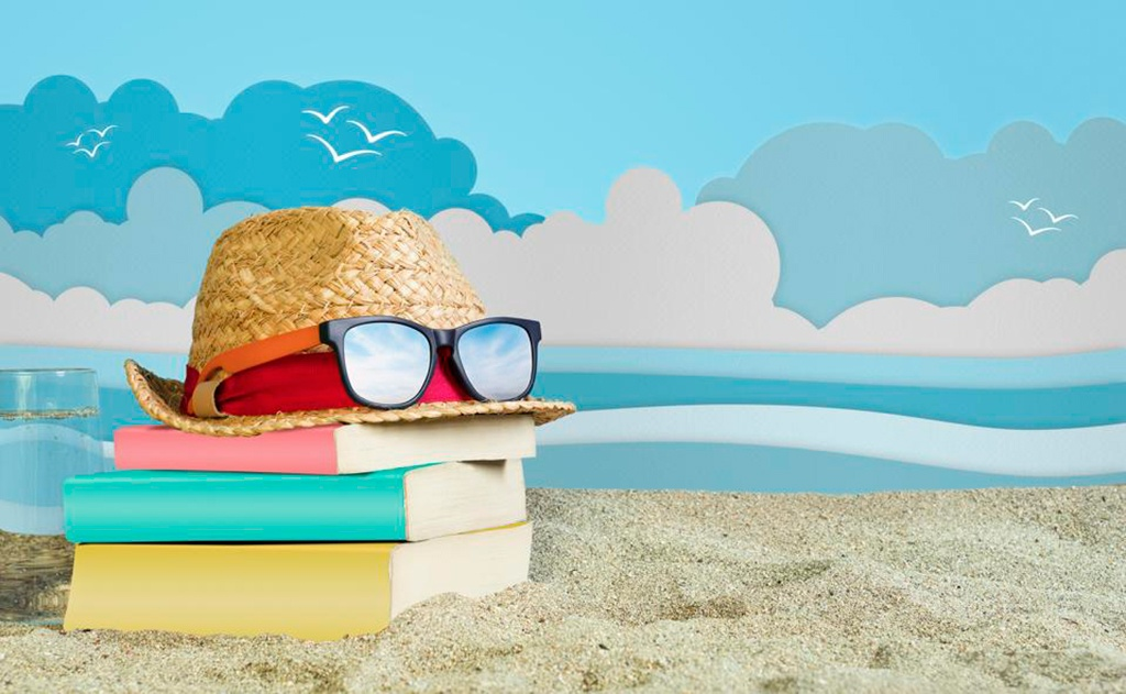 Good Books + Warm Weather =  Summertime Fun!