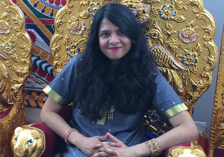 Sunita Balija, Children's Librarian and South Indian Classical Vocalist